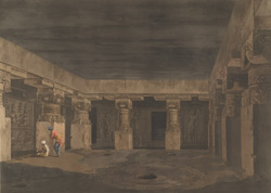 The Ashes of Ravana, interior view